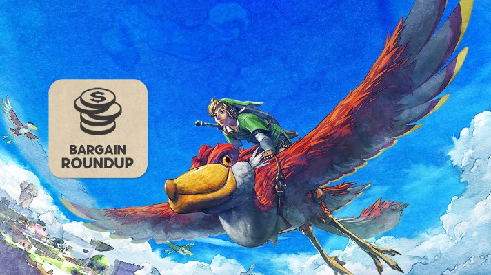 Aussie Bargain Roundup: The Legend of Zelda: Skyward Sword HD