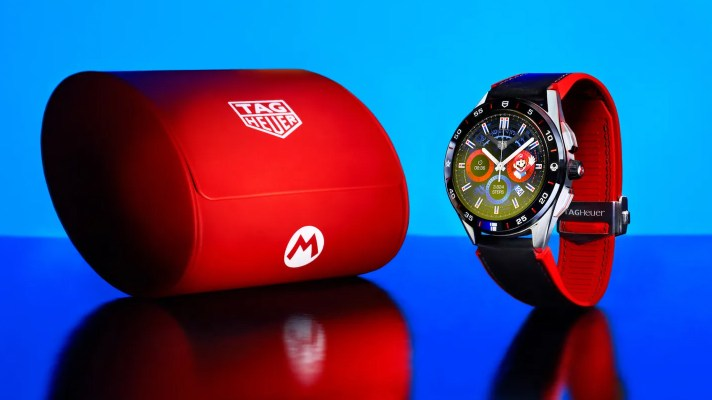 The Tag Heuer Super Mario Smartwatch is limited to 2000 units, costs ~$2800AU