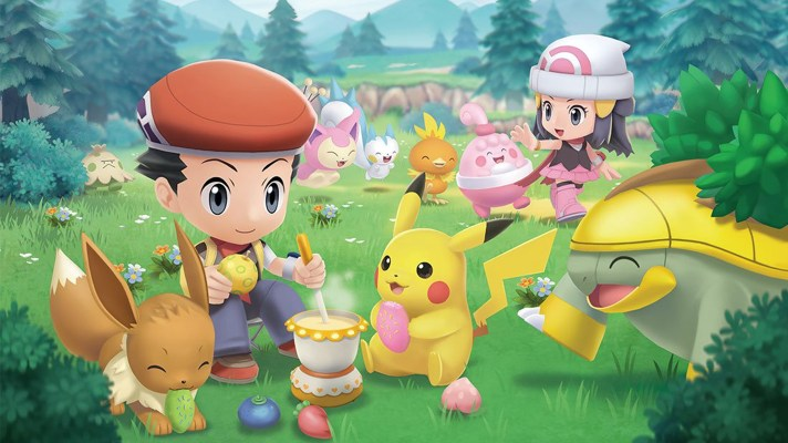 Pokémon Brilliant Diamond and Shining Pearl gets a new trailer with Poffins, Pokétches, and pals