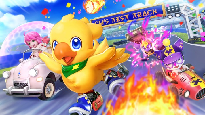 Chocobo GP is an adorable Final Fantasy racer coming next year