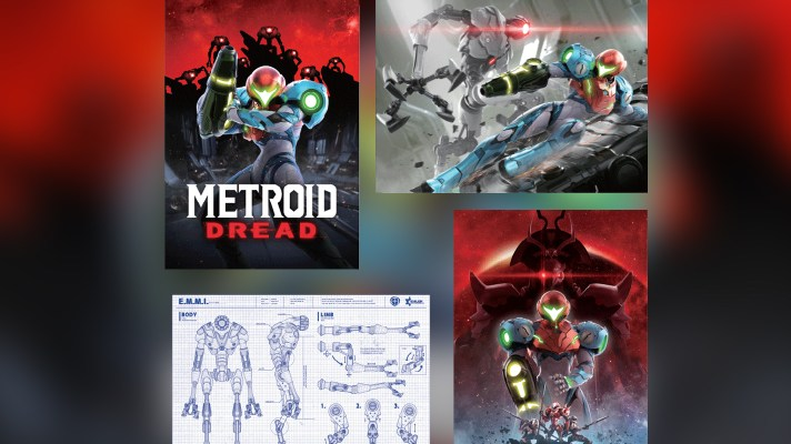 Metroid Dread posters added to My Nintendo Store rewards