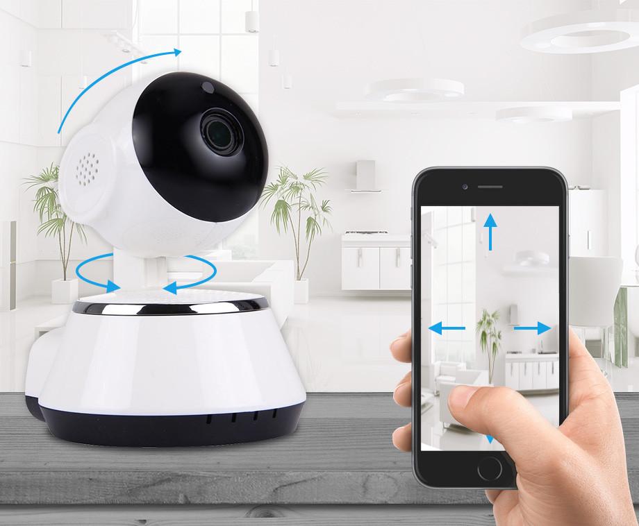 Wifi Smart IP Camera - Houd Alles Live In De Gaten En Bestuur Op...