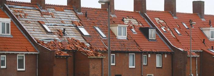 Aansprakelijkheid dakschade bij de buren