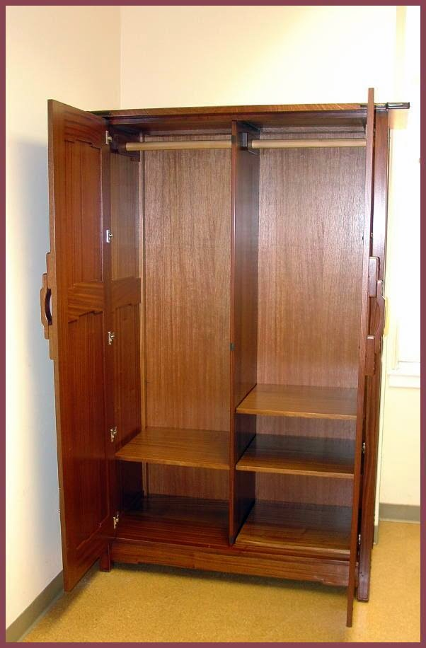 Mission Style Armoire Wardrobe