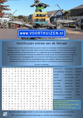 Puzzel Voorthuizen Veluwetotaal