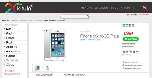 comprar movil iphone
