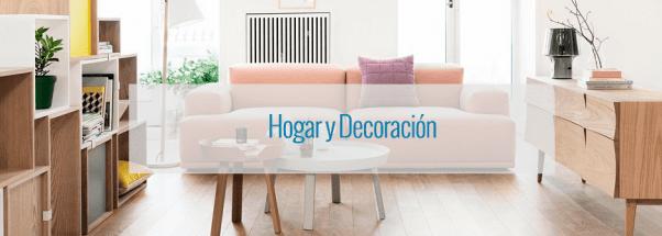 Descuentos en hogar y decoración