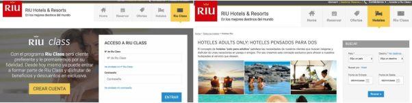 Resevar hoteles riu cadena hotelera