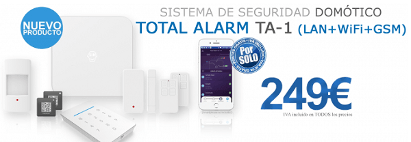 Alarma domotica total alarm ta1