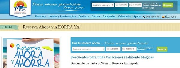 Ofertas hoteles magic costa blanca