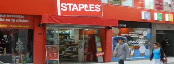 Staples tienda