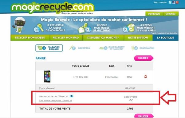 Réduction MagicRecycle