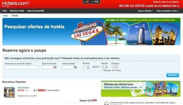 Ofertas de hotéis - Hoteis.com