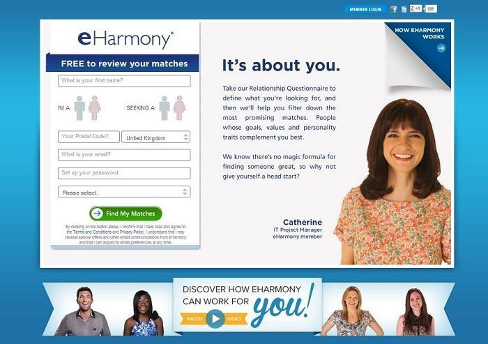 Harmony dating site uk