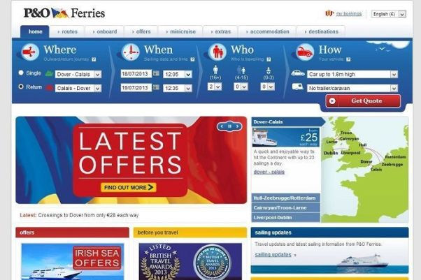 poferries.com
