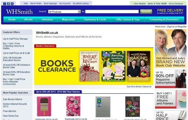 discount WHSmith