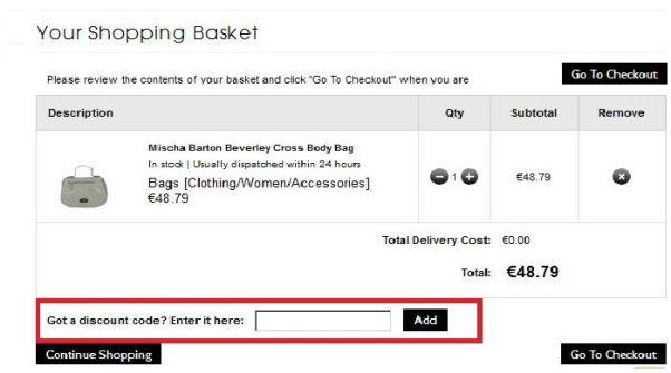 MyBag Discount Code