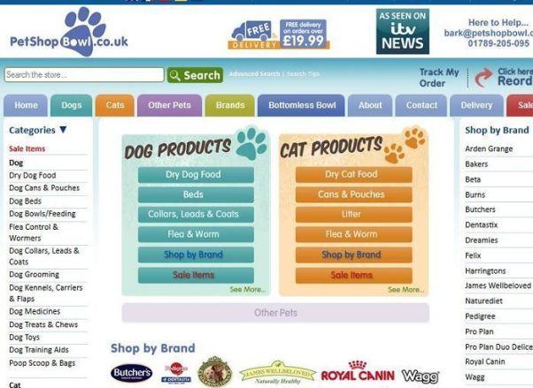 Petshopbowl.co.uk