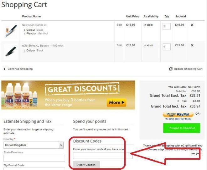 Ecigwizard coupon code
