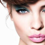 Look con Sombras de Color Intensas