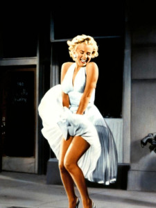 Marilyn-Monroes-white-halter-dress-from-The-Seven-Year-Itch-movie