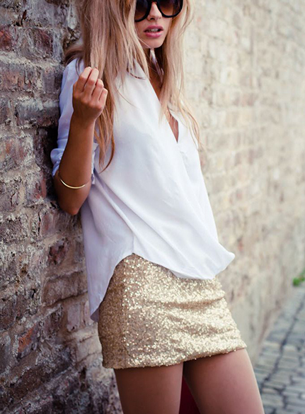Glitter Skirt