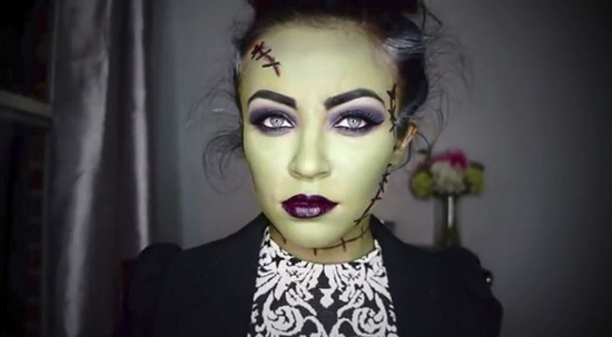 Maquillaje Para Halloween 3 Ideas - Maquillage-para-halloween