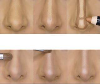 nariz contorno
