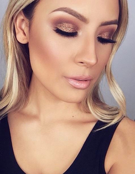 look smokey eye