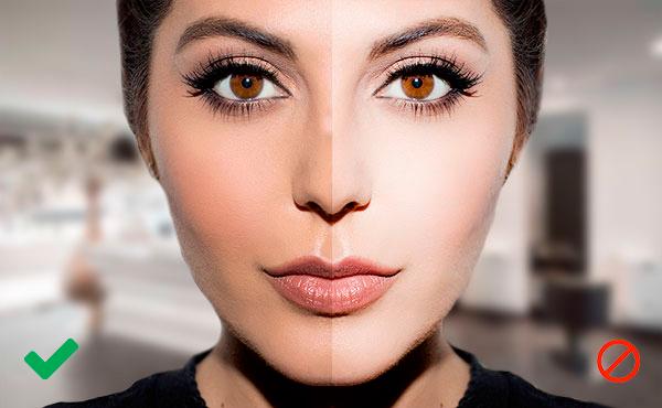 errores que debes evitar para maquillaje de fotos
