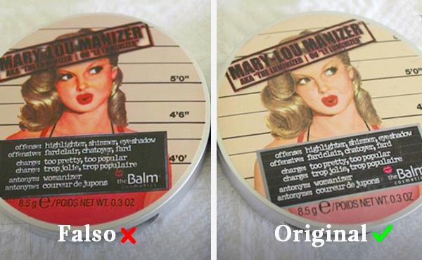 marcas de maquillaje falsificadas