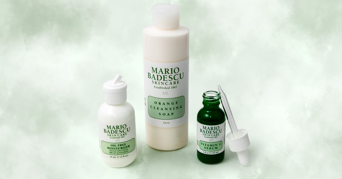 Esenciales de Mario Badescu para el cuidado de lapiel