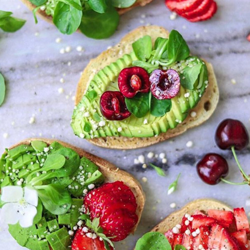 frutas ricos en aceites saludables para cejas perfectas