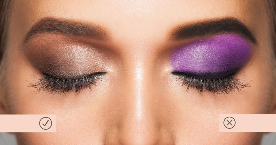 Errores comunes al aplicar las sombras de ojos ¡Evítalos!