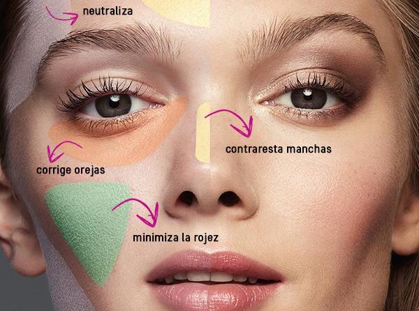 Corrige imperfecciones de tu rostro con corrector