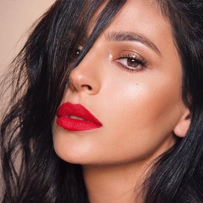 labios rojos para la noche mexicana