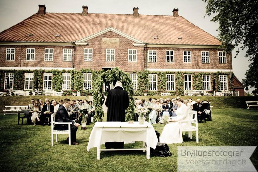 Bryllup på Hindsgavl Slot