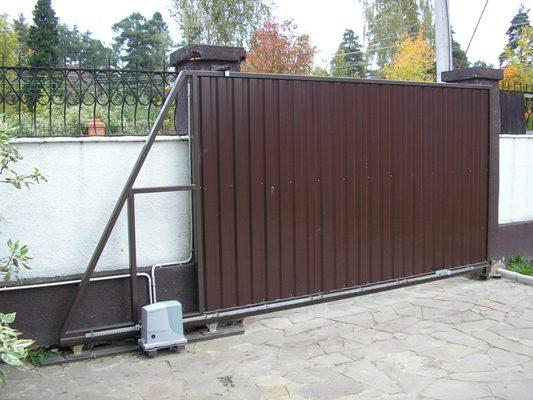 Купить откатные ворота в Краснодаре недорого