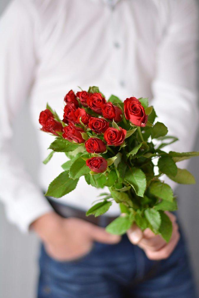 rosen weisses hemd ETERNA