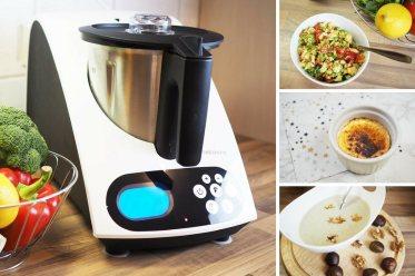 Rezepte Kuechenmaschine mit Kochfunktion MEDION MD 16361