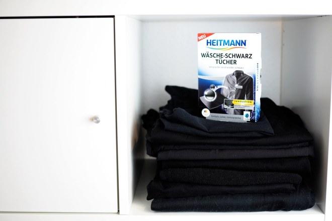 Heitmann Waesche Schwarz Tuch schwarze Kleidung