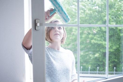 Fenster putzen vorstadtleben lifestyle Blog Leifheit