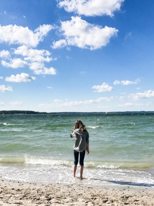 strand hundestrand niendorf ostsee getrennt in den urlaub