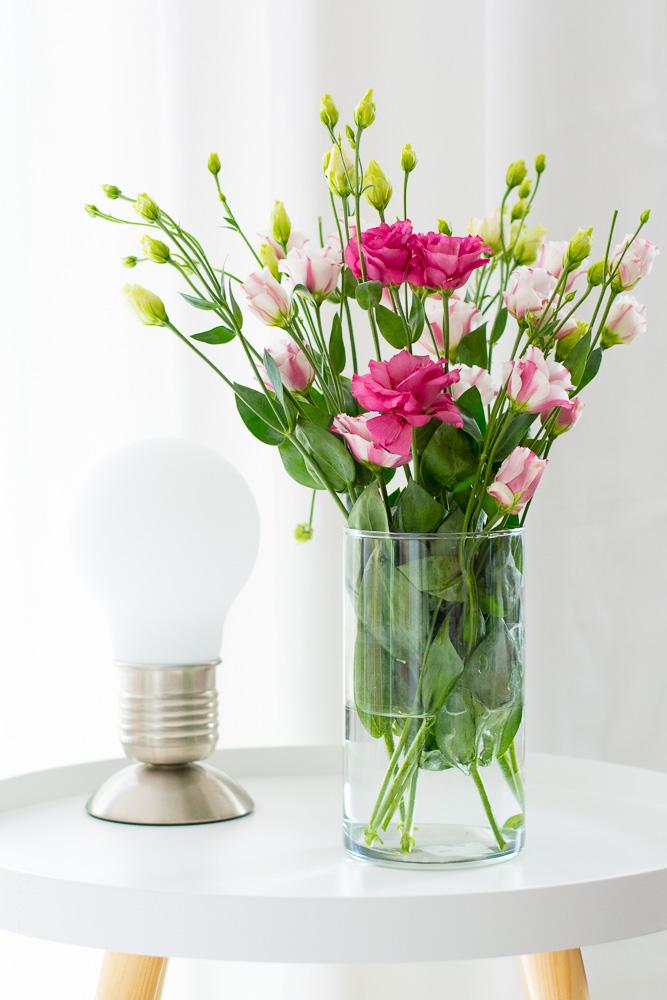 Tischlampe Beistelltisch Wohnzimmer smart home