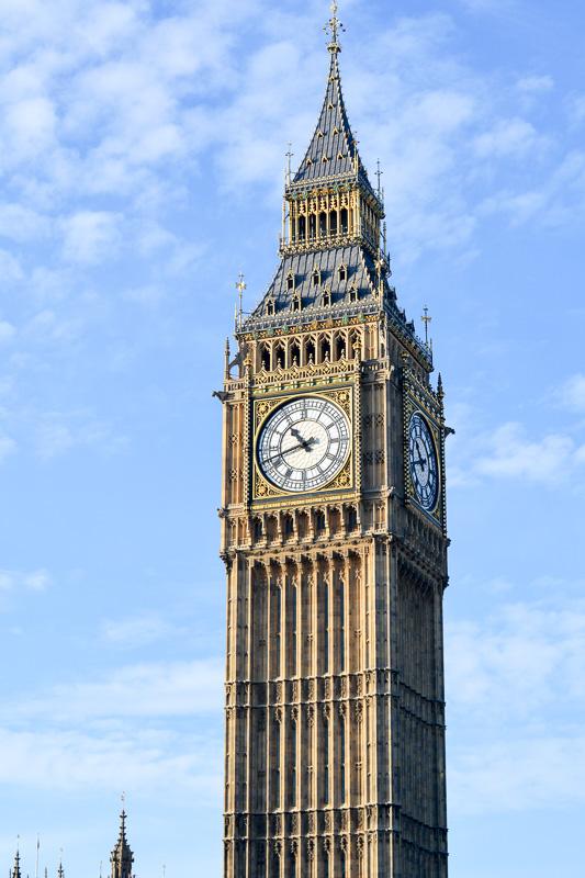 London Big Ben Kurzreise nach London