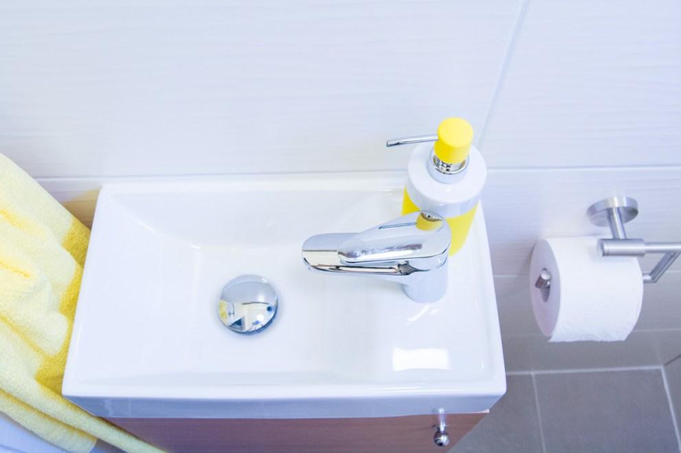 Kleiner Raum, große Gastfreundlichkeit - Herzlich Willkommen im Gäste WC