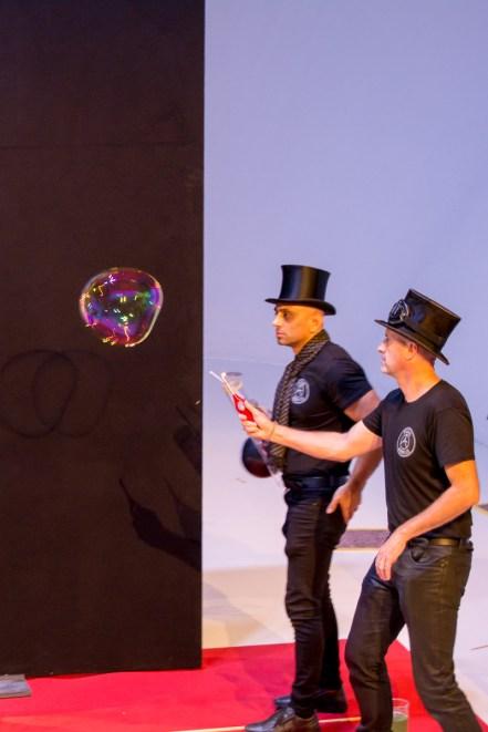 paris bubbles weltrekordversuch bubblemania
