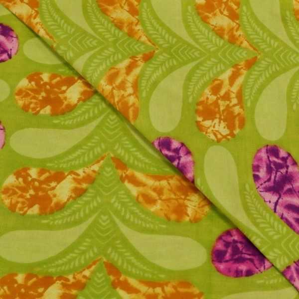 57.01234.028 Katoen Africa Leaves limegroen