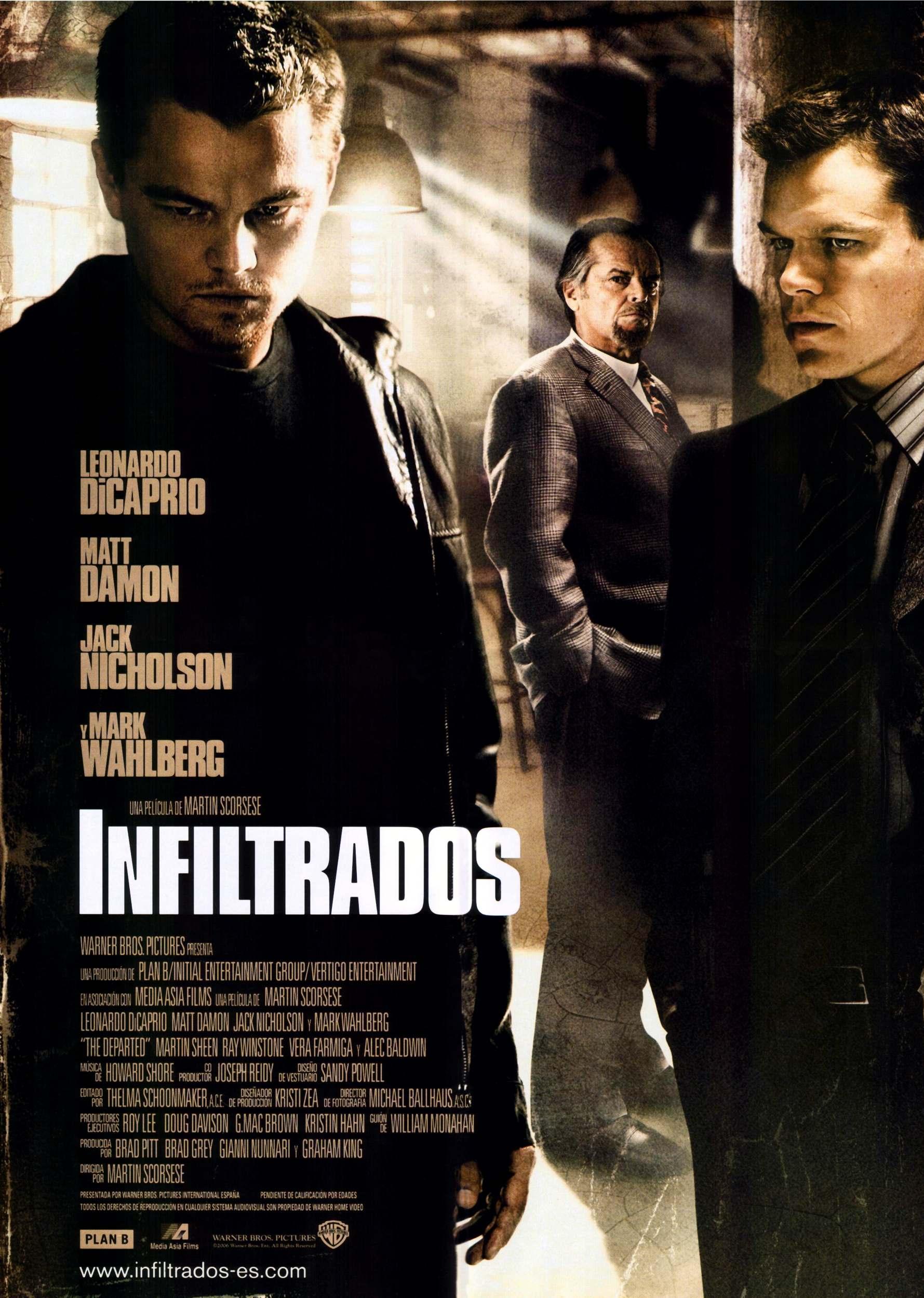 Poster do filme Os Infiltrados
