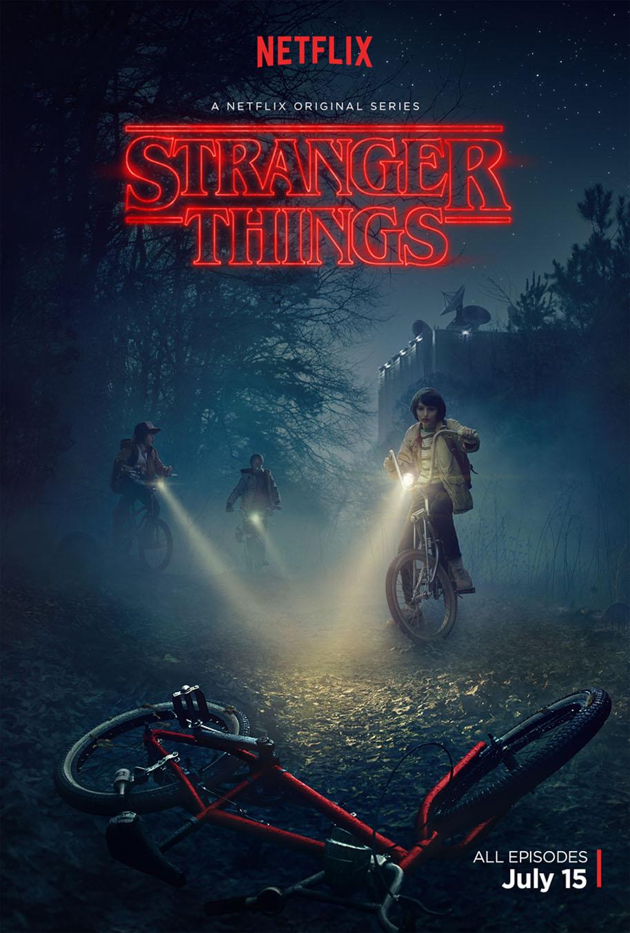 Poster do filme Stranger Things (1ª Temporada)